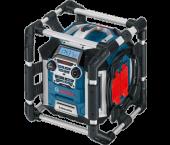Bosch GML 20 PowerBox 360 14.4-18V Li-Ion Accu bouwradio - netstroom & accu (BE & FR aansluiting) - 06014297W0