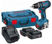Bosch GSR 14,4-2-LI 14.4V Li-Ion accu boor-/schroefmachine set (3x 1.5Ah accu) in L-Boxx - 0615990FD6