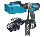 Makita DDF481RT3J 18V Li-Ion accu boor-/schroefmachine set (3x 5.0Ah accu) in Mbox - koolborstelloos