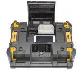 Dewalt DWST1-81078 10,8-54V Li-Ion accu TSTAK radio met oplaadfunctie - werkt op accu - DWST1-81078-QW