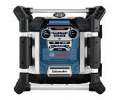 Bosch GML 50 PowerBox 360 Deluxe 14.4-18V Li-Ion Accu bouwradio met laadfunctie - netstroom & accu - BE/FR aansluiting (penaarde) - 06014296W0