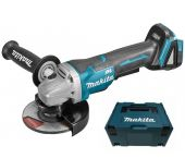 Makita DGA508ZJ 18V Li-Ion Accu haakse slijper body in Mbox - 125mm - koolborstelloos - softstart