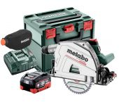 Metabo KT 18 LTX 66 BL 18V Li-ion accu invalcirkelzaag set (2x 8.0Ah accu) in MetaBox - 165 x 20mm - 66mm