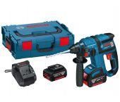 Bosch GBH 18 V-EC 18V Li-Ion Accu SDS-plus combihamer set (2x 4.0Ah accu) in L-Boxx - 1,7J - koolborstelloos - 0611904004
