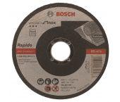 Bosch 2608603169 Standard Rapido Doorslijpschijf - 115 x 22,23 x 1mm - RVS