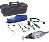 Dremel 3000-2/55 Elektrische Multitool incl. 55 Delige accessoireset in koffer - 130W - F0133000NE