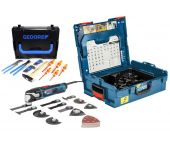 Bosch GOP 55-36 Multitool + accessoires in L-Boxx - 550W - variabel + 26 delige Gedore set in L-boxx - 0615990J7R