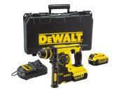 DeWalt DCH253M2 18V Li-Ion Accu SDS-plus combihamer set (2x 4.0Ah accu) in koffer - 2,1J - DCH253M2-QW