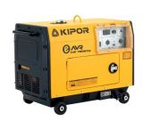Kipor KDE7500TD Diesel Aggregaat - 5700W (230V) - 1 cylinder