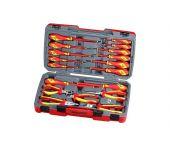Teng Tools TV18N 18 delige gereedschapset in koffer