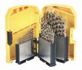 DeWalt DT7926 29 delige metaalborenset in cassette - DT7926-XJ