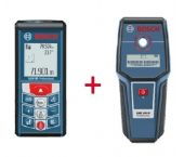 Bosch GLM 80 Afstandsmeter in tas & GMS 100 M detector - 80m
