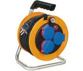 Brennenstuhl 1072500 Brobusta Kompakt IP44 kabelhaspel - H07RN-F 3G1,5 - 10m