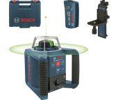 Bosch GRL 300 HVG + RC 1 + WM 4 Rotatie laser in koffer - 100m - groen - 0601061700