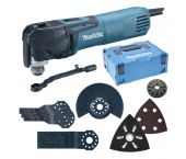 Makita TM3010CX5J Multitool + 57 delige accessoiresset in Mbox - 320W