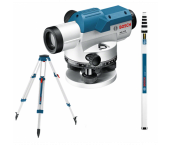 Bosch 06159940AX GOL 32 D Optisch Waterpastoestel 1200mm incl. Statief BT160 & Meetlat GR500 - in Koffer