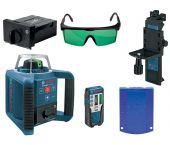 Bosch GRL 300 HVG Rotatie laser incl. accessoires in koffer - 100m - groen - 0601061701