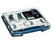 Bosch 0615990H5P 117 Delige accessoires in i-boxx - boren & bitjes