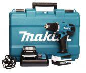 Makita DF347DWE 14.4V Li-Ion accu boor-/schroefmachine set (2x 1.3Ah accu) in koffer