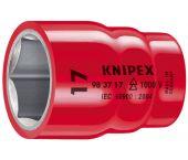"""Knipex 983710 VDE Dopsleutel - Zeskant - 10mm - 3/8"""" (L=42mm)"""
