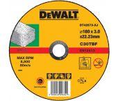 DeWalt DT42573 Rechte doorslijpschijf - 180 x 22,23 x 3mm - steen - DT42573-XJ