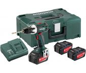 Metabo BS 18 LT 18V Li-Ion accu boor-/schroefmachine set (3x 4.0Ah accu) in Metaloc