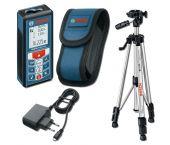 Bosch GLM 80 Laser afstandmeter in tas & Statief (BT 150) - 80m - 06159940A1