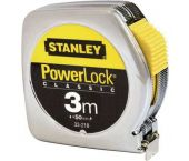 Stanley 0-33-218 PowerLock Classic Rolmaat - 3m x 12,7mm