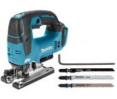 Makita DJV182ZJ 18V Li-Ion Accu decoupeerzaag body in Mbox - D-greep - variabel - koolborstelloos