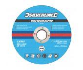 Silverline 792088 Slijpschijf - Steen - 125 x 3 x 22,23mm (10st)