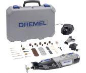 Dremel 8220JF 12V Li-Ion accu multitool incl. 45 delige accessoireset in koffer (1x 2.0Ah accu)