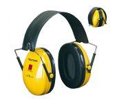 3M Peltor H510 Optime l Gehoorkap met hoofdbeugel - Opvouwbaar - Geel - OPT1GUF