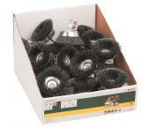 Bosch 2607017123 Komstaalborstels voor boormachines - gegolfde draad