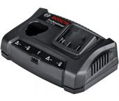 Bosch GAX 18 V-30 10.8V - 18V Li-Ion Accu oplader met USB-aansluiting - 1600A011A9