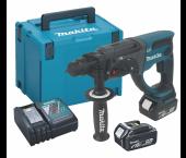 Makita DHR202RMJ 18V Li-Ion Accu SDS-plus combihamer set (2x 4.0Ah accu) in Mbox - 2J
