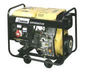 Kipor KGE6500E3 Benzine Aggregaat - 1500W (230v) / 6000W (400v) - 4 takt