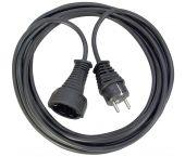 Brennenstuhl 1165440 Kwaliteits kunststof verlengsnoer zwart - H05VV-F 3G1,5 - 5m