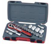 "Teng Tools T1221 21 delige doppenset - 1/2"""