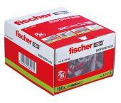 Fischer 538240 DUOPOWER 6X50 Pluggen - 6 x 50mm (100st) - 538240