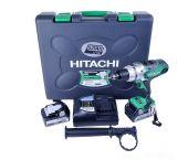 Hitachi DV18DSDL 18V Li-Ion accu klopboor-/schroefmachine set (2x 5.0Ah accu) in koffer