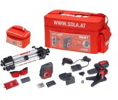 Sola IOX5 Punt-/lijnlaser set in tas - Zelfnivellerend - 71016601