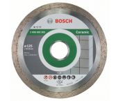 Bosch 2608602202 Standard Diamantdoorslijpschijf - 125 x 22,23 x 1,6mm - keramiek