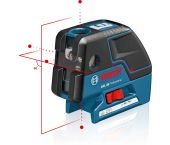 Bosch GCL 25 punt kruislijnlaser 30m - 0601066B00