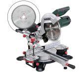 Metabo KGS 254 M Afkortzaag incl. extra cirkelzaagblad - 1800W - 254 x 30mm - 690828000