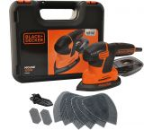 Black+Decker KA2500K Schuurmachine in koffer - 120W - KA2500K-QS