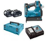 Makita DBN500RMJ 18V Li-Ion Accu brad tacker set (2x 4.0Ah accu) in Mbox - 15-50mm - 18 Gauge