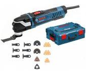 Bosch GOP 30-28 Multitool + 16 delige accessoireset in L-Boxx - 300W - 0601237000
