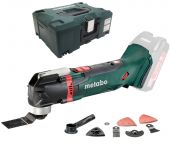 Metabo MT 18 LTX 18V Li-Ion Accu multitool body + 14 delige accessoireset in Metaloc