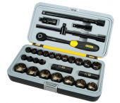 """Stanley 1-94-662 30 delige FatMax MicroTough 1/2"""" Dopsleutelset in koffer"""