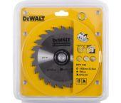 DeWalt DT1141 / DT1930 Extreme Cirkelzaagblad - 152 x 20 x 24T - Hout (Met nagels) - DT1141-QZ